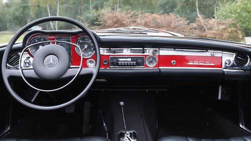 1971 MERCEDES 280 SL PAGODA For Sale (picture 6 of 6)