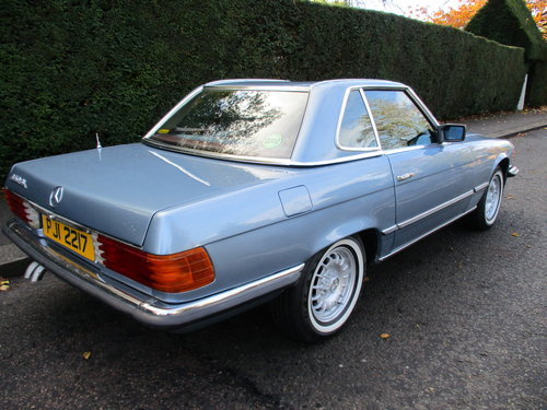 MERCEDES 350 SL AUTO 1977 STUNNING LOW MILEAGE H & S TOPS For Sale (picture 6 of 10)