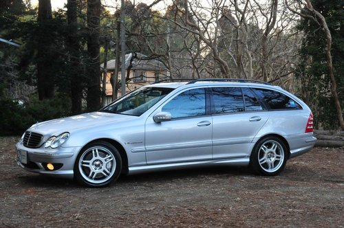 2002 Mercedes-Benz C32 AMG for sale 58,374 miles from new SOLD (picture 1 of 6)