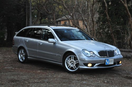 2002 Mercedes-Benz C32 AMG for sale 58,374 miles from new SOLD (picture 2 of 6)