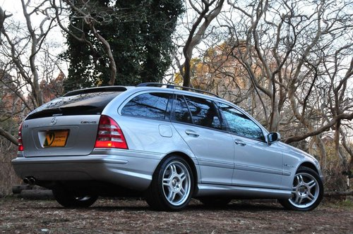2002 Mercedes-Benz C32 AMG for sale 58,374 miles from new SOLD (picture 3 of 6)