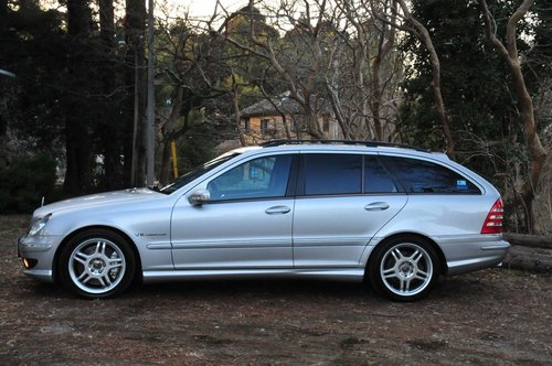2002 Mercedes-Benz C32 AMG for sale 58,374 miles from new SOLD (picture 4 of 6)