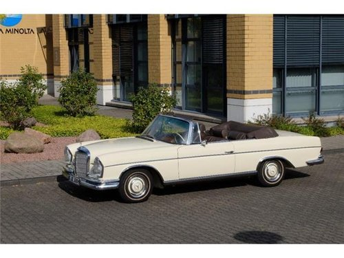 1966 Mercedes-Benz  300 SE Cabriolet W112 For Sale (picture 1 of 5)