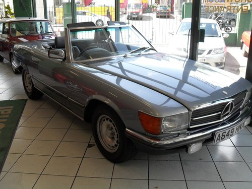 1983 Mercedes Benz 500SL For Sale (picture 1 of 5)