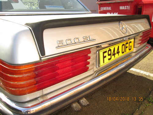 1988 Restoration project required on this Classic SL SOLD (picture 3 of 6)