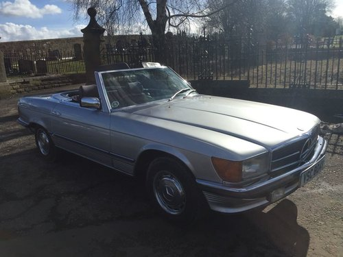 Mercedes 350 SL automatic classic 1980 FSH For Sale (picture 2 of 6)