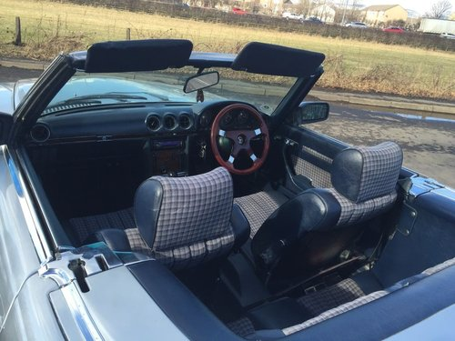 Mercedes 350 SL automatic classic 1980 FSH For Sale (picture 3 of 6)