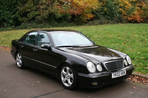 2002 Mercedes E320 CDi Avantgarde.. Bargain To Clear.. SOLD (picture 1 of 6)