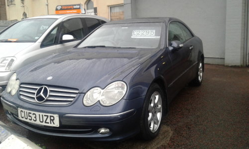 2003 53 PLATE CLK KOMP ELEGANCE 200 AUTO    For Sale (picture 1 of 4)