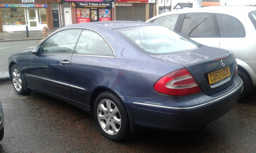 2003 53 PLATE CLK KOMP ELEGANCE 200 AUTO    For Sale (picture 2 of 4)