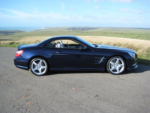 2014 Mercedes Benz SL350 AMG Sport Panoramic In Cavansite Blue For Sale (picture 6 of 6)