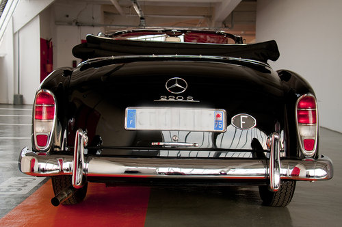 1959 Mercedes 220S Cabriolet - 90K€ of invoices For Sale (picture 3 of 6)