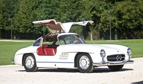 1955 MERCEDES 300 SL -GULLWING- For Sale (picture 1 of 6)