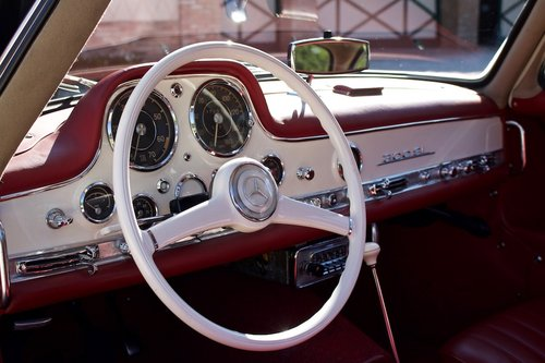 1955 MERCEDES 300 SL -GULLWING- For Sale (picture 4 of 6)