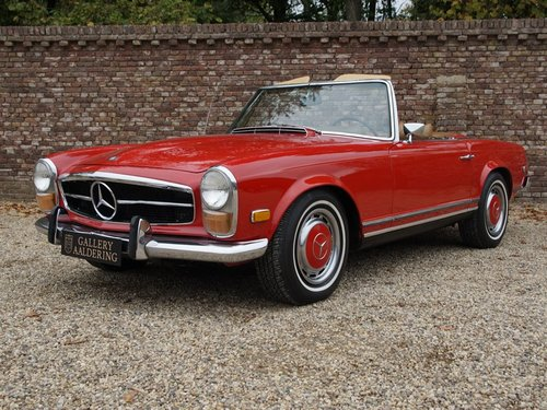 1970 Mercedes Benz 280SL Pagode airconditioning For Sale (picture 1 of 6)
