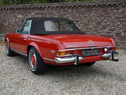 1970 Mercedes Benz 280SL Pagode airconditioning For Sale (picture 2 of 6)