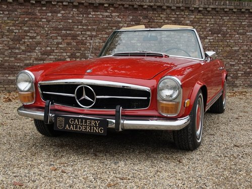 1970 Mercedes Benz 280SL Pagode airconditioning For Sale (picture 5 of 6)