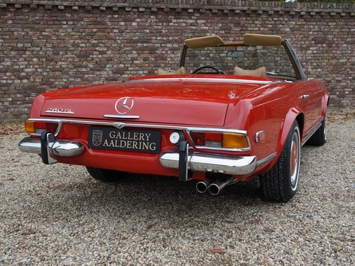 1970 Mercedes Benz 280SL Pagode airconditioning For Sale (picture 6 of 6)