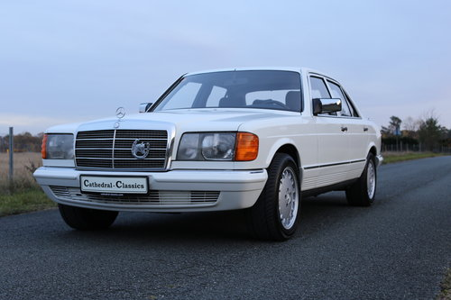 1981 Ein robuster Mercedes Benz W126 280 SE Automatik SOLD (picture 5 of 6)