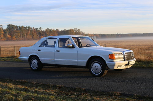 1981 Ein robuster Mercedes Benz W126 280 SE Automatik SOLD (picture 6 of 6)