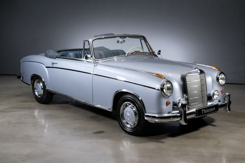1960 Mercedes-Benz 220 SE Ponton Convertible For Sale (picture 1 of 6)