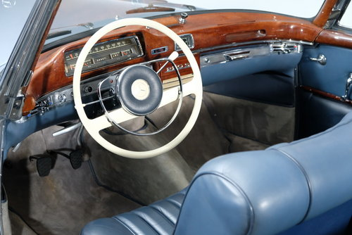 1960 Mercedes-Benz 220 SE Ponton Convertible For Sale (picture 5 of 6)