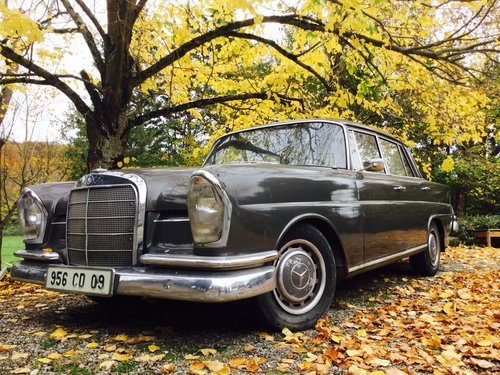 1964 Mercedes 220se fintail diesel REDUCED For Sale (picture 1 of 6)