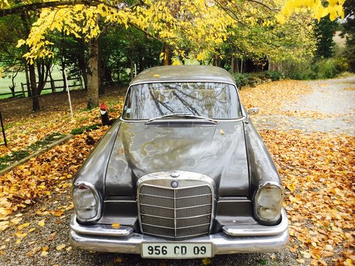 1964 Mercedes 220se fintail diesel REDUCED For Sale (picture 3 of 6)