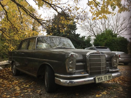 1964 Mercedes 220se fintail diesel REDUCED For Sale (picture 5 of 6)
