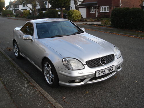 2002 Mercedes SLK32 AMG R170 - 1 of 263 & Immaculate For Sale (picture 1 of 6)