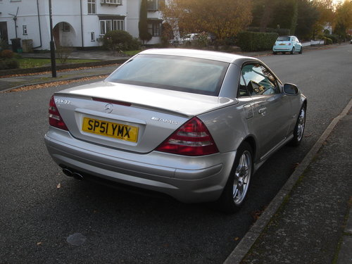 2002 Mercedes SLK32 AMG R170 - 1 of 263 & Immaculate For Sale (picture 3 of 6)