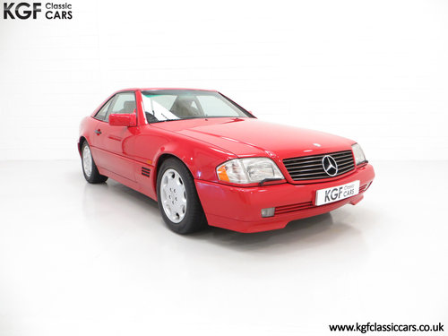 1992 A Desirable Mercedes-Benz 300SL-24 R129 SOLD (picture 1 of 6)