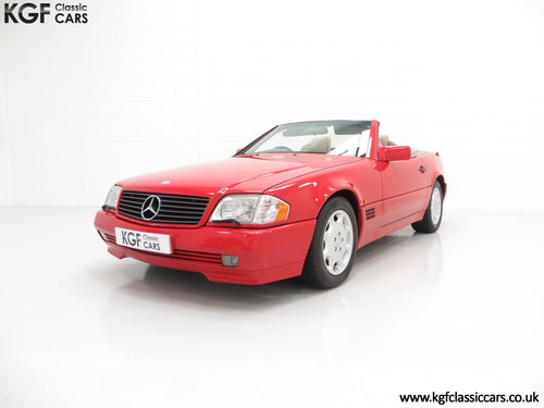 1992 A Desirable Mercedes-Benz 300SL-24 R129 SOLD (picture 2 of 6)