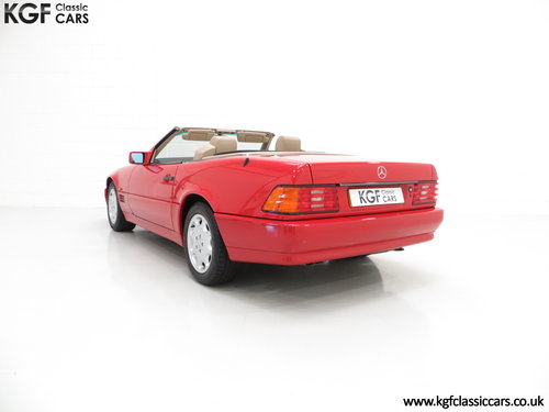 1992 A Desirable Mercedes-Benz 300SL-24 R129 SOLD (picture 4 of 6)