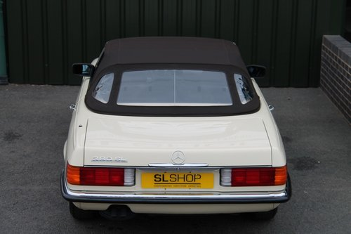 1984 MERCEDES-BENZ 380 SL | STOCK #2038 For Sale (picture 6 of 6)