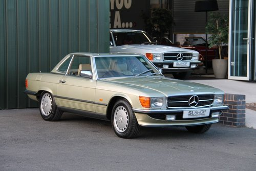 1986 MERCEDES-BENZ 420 SL   STOCK #2023 For Sale (picture 1 of 6)
