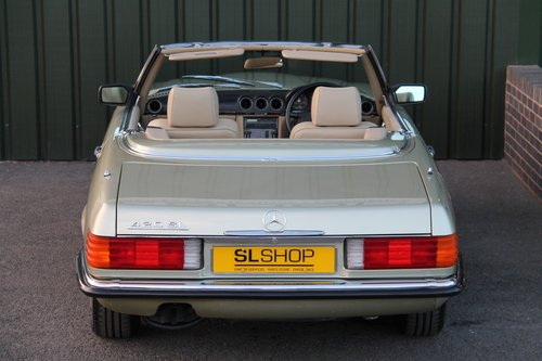 1986 MERCEDES-BENZ 420 SL   STOCK #2023 For Sale (picture 5 of 6)