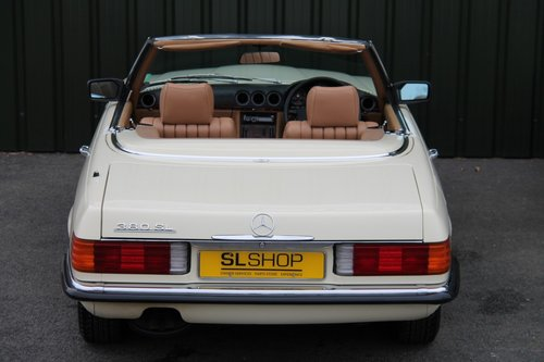1984 MERCEDES-BENZ 380 SL | STOCK #2059 For Sale (picture 5 of 6)