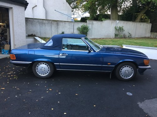 1989 Mercedes SL300 Convertible Automatic For Sale (picture 1 of 5)