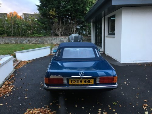 1989 Mercedes SL300 Convertible Automatic For Sale (picture 4 of 5)