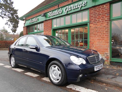 2002 Mercedes-Benz C200 Classic manual  SOLD (picture 2 of 4)
