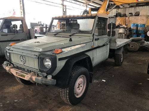 1994 MERCEDES MB290 GD CARGO TRUCK RHD DIESEL MANUAL For Sale (picture 1 of 6)