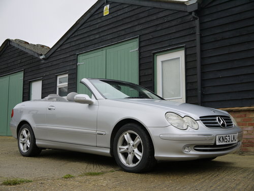 2003 MERCEDES BENZ CLK320 CABRIOLET - GREAT VALUE !! SOLD (picture 1 of 6)