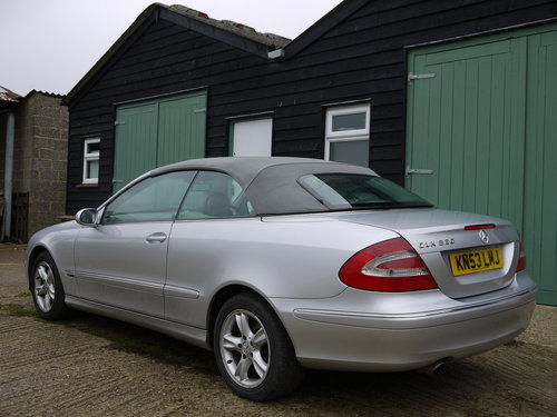 2003 MERCEDES BENZ CLK320 CABRIOLET - GREAT VALUE !! SOLD (picture 5 of 6)