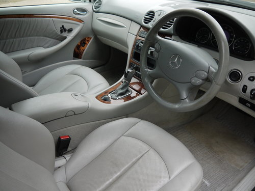 2003 MERCEDES BENZ CLK320 CABRIOLET - GREAT VALUE !! SOLD (picture 6 of 6)