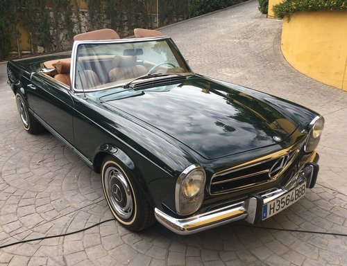 1969 LHD Mercedes Benz 280 SL W113 Automatic In Spain For Sale (picture 1 of 6)