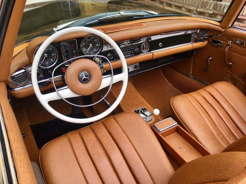 1969 LHD Mercedes Benz 280 SL W113 Automatic In Spain For Sale (picture 4 of 6)