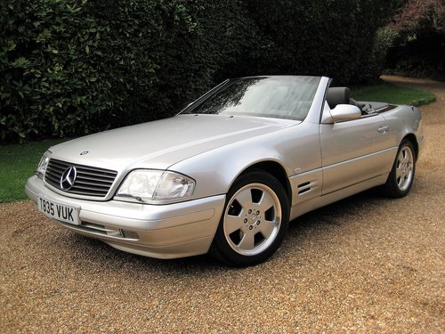 1999 Mercedes Benz SL320 R129 Facelift With Just 19,000 From New For Sale (picture 2 of 6)