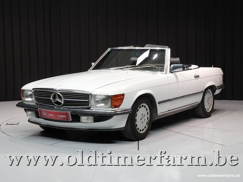1989 Mercedes-Benz 300SL R107 White '89 '3424' For Sale (picture 1 of 6)