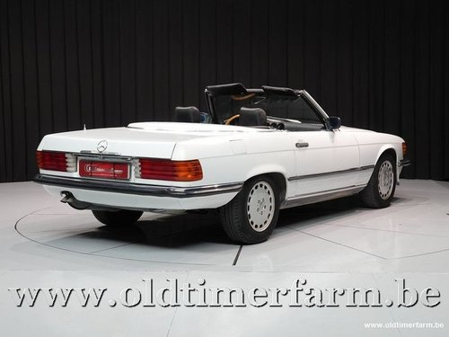 1989 Mercedes-Benz 300SL R107 White '89 '3424' For Sale (picture 2 of 6)
